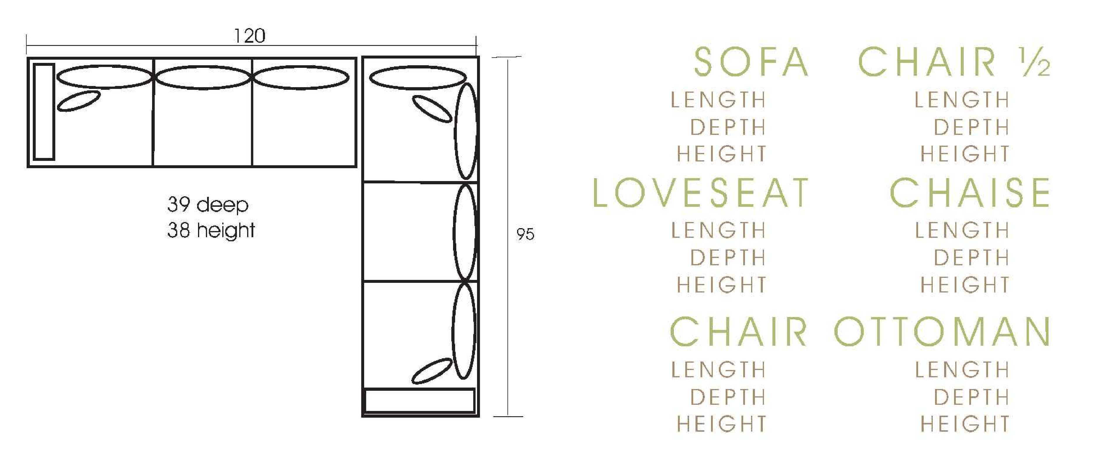 Sectional Couch Sizes submited images